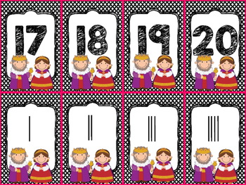 Fairy Tale Number Card Game #0-20