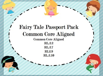 Fairy Tale Pack-Common Core Aligned
