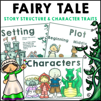 Fairy Tale Literacy Pack Flip Book, Posters and Activities