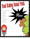 Fairy Tales: Red Riding Hood. ABCs, 123s, writing and math.