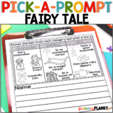 Picture Writing Prompts w/Spelling Supports and Choice Fai