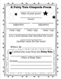 Fairy Tale Poem (Cinquain)Printable