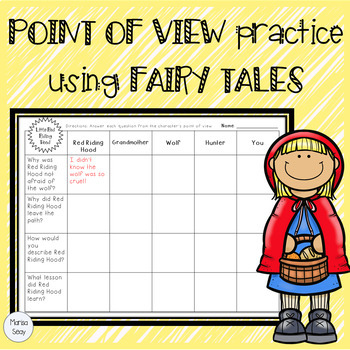 Fairy Tale Point of View