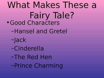Fairy Tale PowerPoint