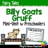 Fairy Tale Preschool Unit - Billy Goats Gruff