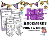 Fairy Tale Color and Create Bookmarks