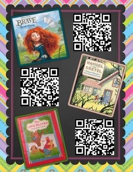 Fairy Tale QR Codes FREEBIE!