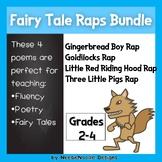 """Fairy Tale Raps"" Stories Poem Poetry Bundle Fluency Literacy"