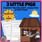 Fairy Tale Reader's Theater - 3 Little Pigs