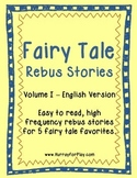 Fairy Tale Rebus Stories (English)
