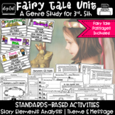 Fairy Tales Teaching Theme Central Message 3rd 4th 5th Grade RL3.2 RL4.2 RL5.2
