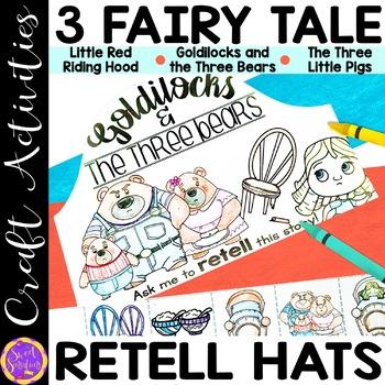 Fairy Tale Retell Hat Craft Activity