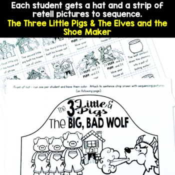 Fairy Tale Retell Hat Craft Activity