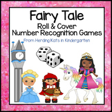 Fairy Tale Roll & Cover Number Recognition Games!