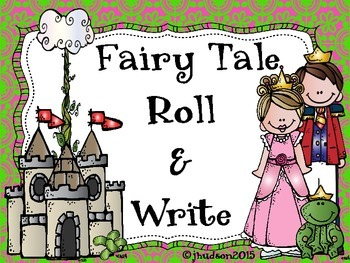 Fairy Tale Roll and Write