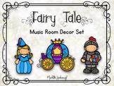 Fairy Tale Music Room Decor Bundle