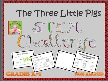 Fairy Tale STEM- 3 Little Pigs