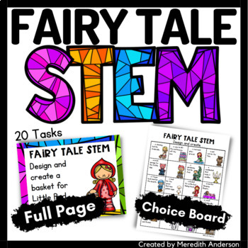 Fairy Tale STEM and STEAM Activities