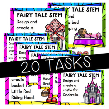 Fairy Tale STEM and STEAM Activities Distance Learning