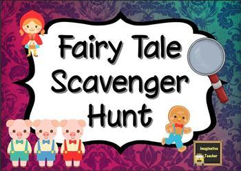 Fairy Tale Scavenger Hunt