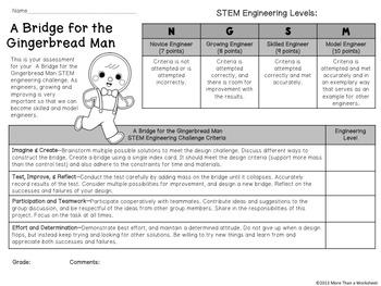 Fairy Tale STEM: Index Card Bridge {Gingerbread Man}