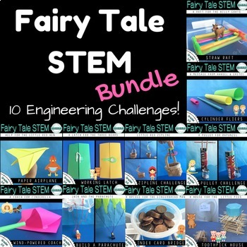 Fairy Tale Stem Mega Bundle By More Than A Worksheet Tpt