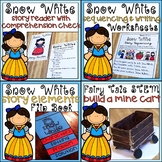 Fairytale Story Retell and Sequencing, STEM & Reader Activities BUNDLE