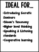 Fairy Tale Socratic Seminar Bundle {Bloom's Taxonomy, Comm