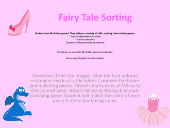 Fairy Tale Sorting