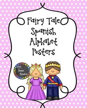 Fairy Tale Spanish Alphabet Posters