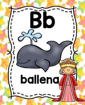 Fairy Tale Spanish Alphabet Preview