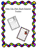 Fairy Tale Star Sheet behavior Tracker