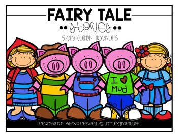 Fairy Tale Story Element Booklets