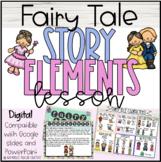 Fairy Tale Story Elements Lesson: Digital Slides