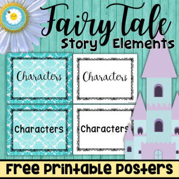 Fairy Tale Story Elements POSTERS - FREE