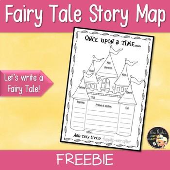 Fairy Tale Story Map Freebie
