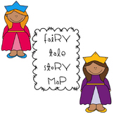 Fairy Tale Story Map with Theme