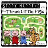 Fairy Tale Story Maps: The Three Little Pigs