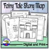 Fairy Tale Story Map Somebody Wanted But So Then and Writing Activities