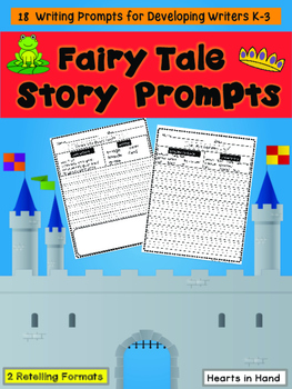 Fairy Tale Story Prompts K-4