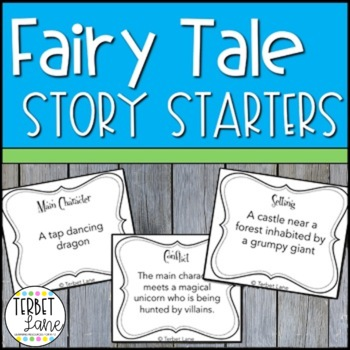 Fairy Tale Story Starters Creative Writing Prompt Cards