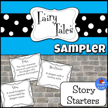 Fairy Tale Story Elements Creative Story Starter Writing Prompt Cards Sampler
