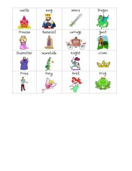 Fairy Tale Syllable Sort