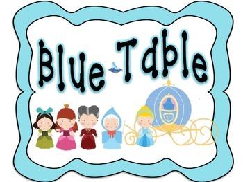 Fairy Tale Table