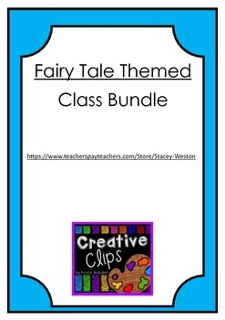 Fairy Tale Theme Class Decor Bundle