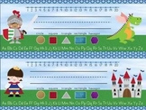 Fairy Tale Theme Name Tags/Desk Tags - Primary