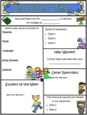 Fairy Tale Theme Newsletter Template - WORD