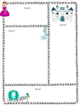 Fairy Tale Theme Newsletters -Editable