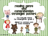 Reading Genre and Reading Comprehension Posters CCSS