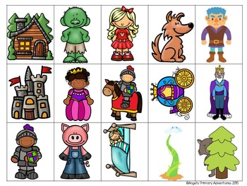 Fairy Tale Themed Barrier Game for Oral Communication
